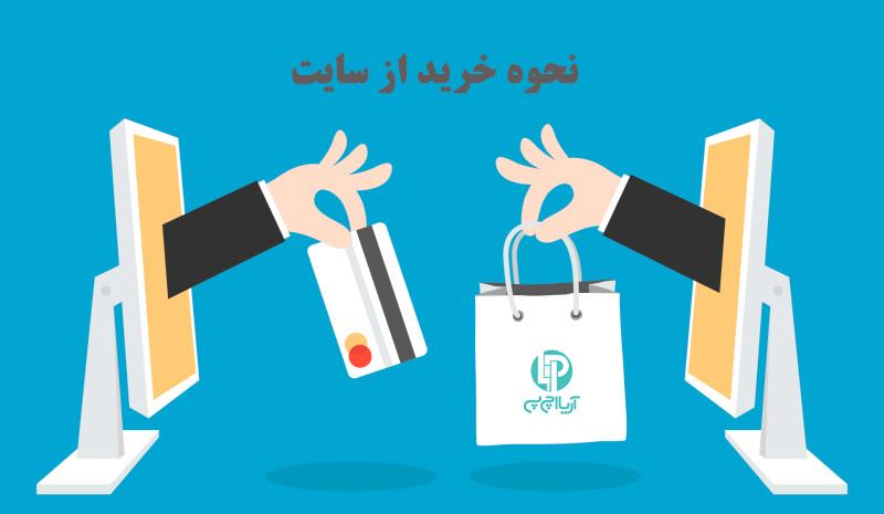 نحوه خرید آنلاین از سایت آریا اچ پی
